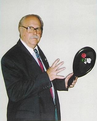 Tony Lackner mit Rosenspiegel